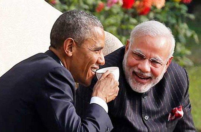 भारत की कमजोरी बयां करते घूम रहे ओबामा ?