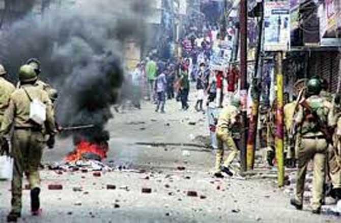 2014 में हिंसा से भारतीय अर्थव्यवस्था को 21,932 अरब रुपये का नुकसान