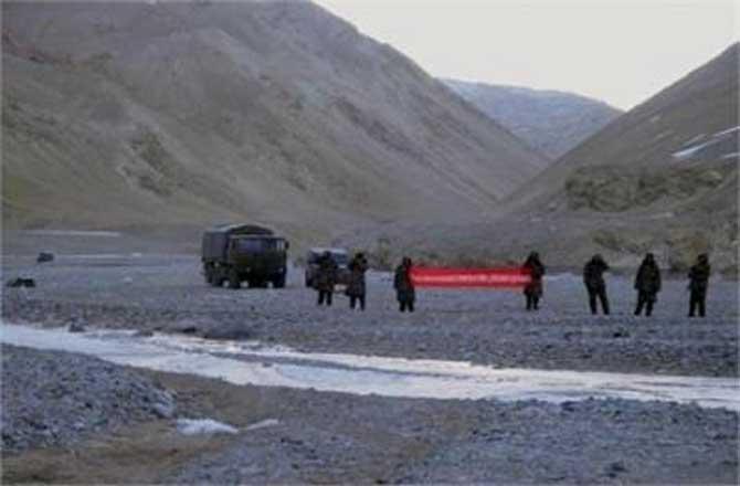 चीनी सैनिकों द्वारा लद्दाख में घुसपैठ की कोशिश भारतीय सेना ने खदेड़ा