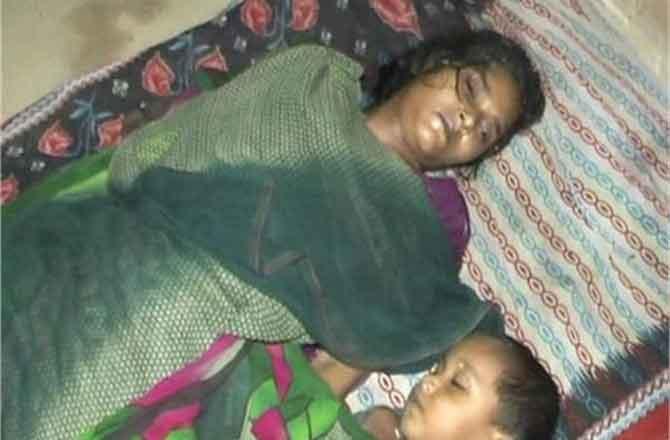 पति के जुल्म से परेशान महिला ने जहर खा बच्चे को दिया जहर दोनों की मौत