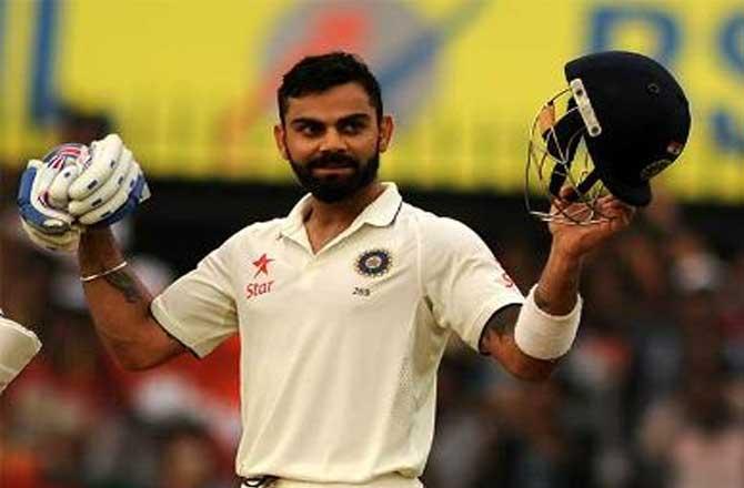टेस्ट में दो दोहरे शतक लगाने वाले पहले भारतीय कप्तान बने कोहली
