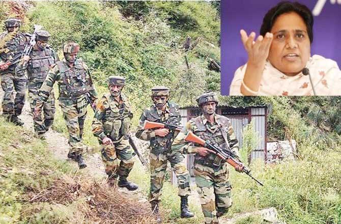 जारी है सर्जिकल स्ट्राइक्स पर पॉलिटिक्स, राहुल के बाद अब मायावती BJP पर हुई हमलावर