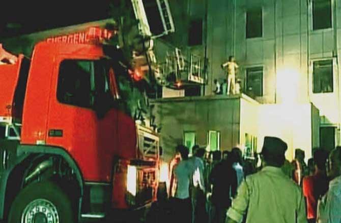 अस्पताल में आग लगने से 22 लोगों की मौत कई गंभीर