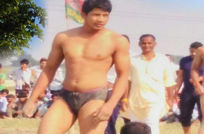 विक्रम ने राजस्थान व मध्य प्रदेश के पहलवानों को पटकनी दे लोंगों का दिल जीता