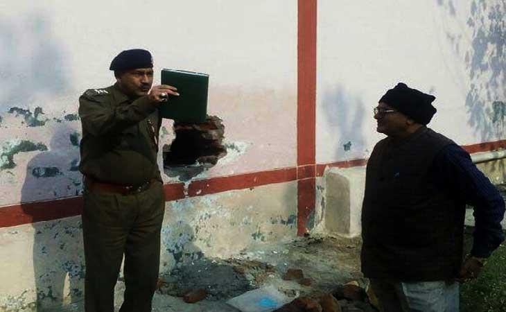 बदमाशों ने स्टेट बैंक से उड़ाए लाखों रुपये,पुलिस जाँच में जुटी