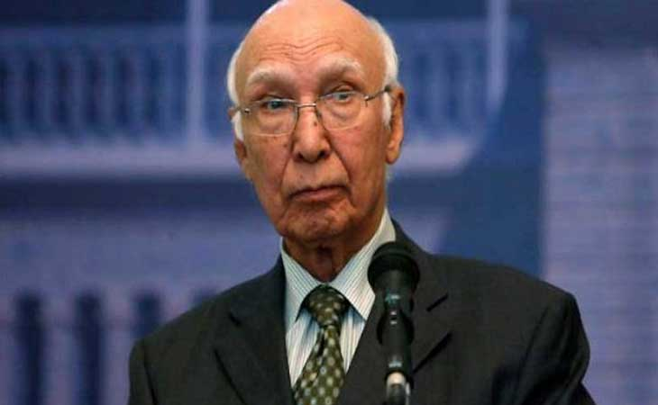 हार्ट ऑफ एशिया में अजीज ने किया भारत-पाक संबंधों का जिक्र