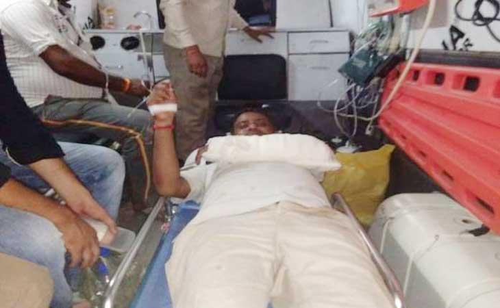 पत्रकार दिलीप को बदमाशों ने मारी गोली, पुलिस जाँच में जुटी