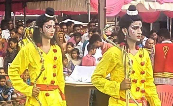 लखनऊ की रामलीला जहाँ मुस्लिम कलाकार करते हैं आज भी मंचन