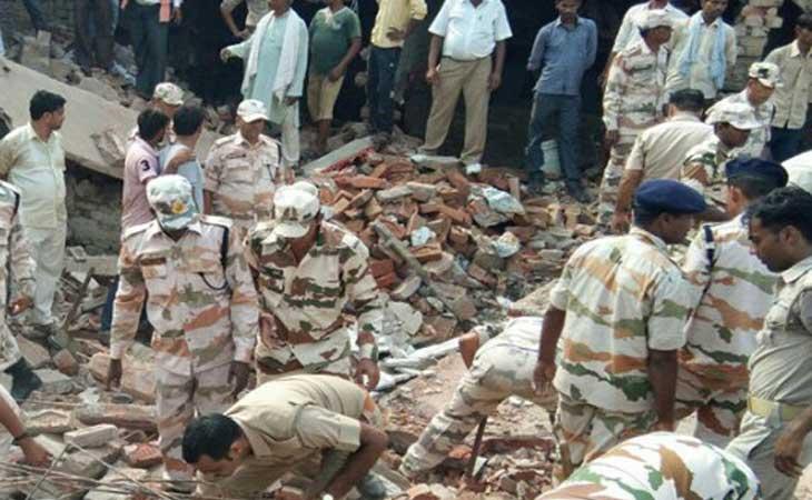 कानपुर में विस्फोट से 2 की मौत, छह मकान ध्वस्त कई मलबे में दबे