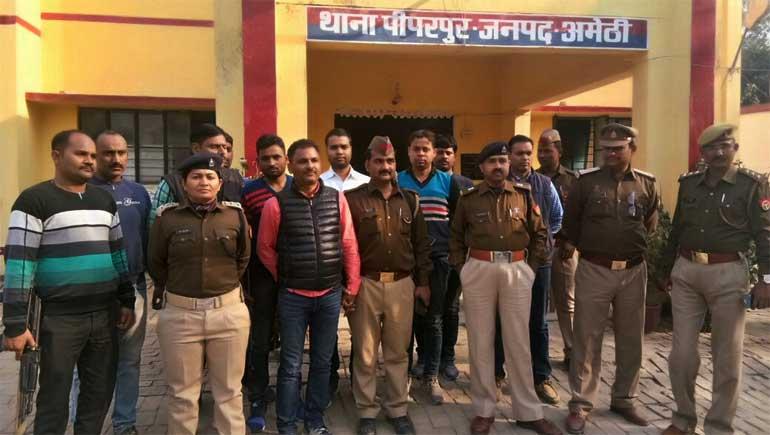 अशफाक के हत्यारोपी राजेश विक्रम को पुलिस ने पीपरपुर में धर दबोचा