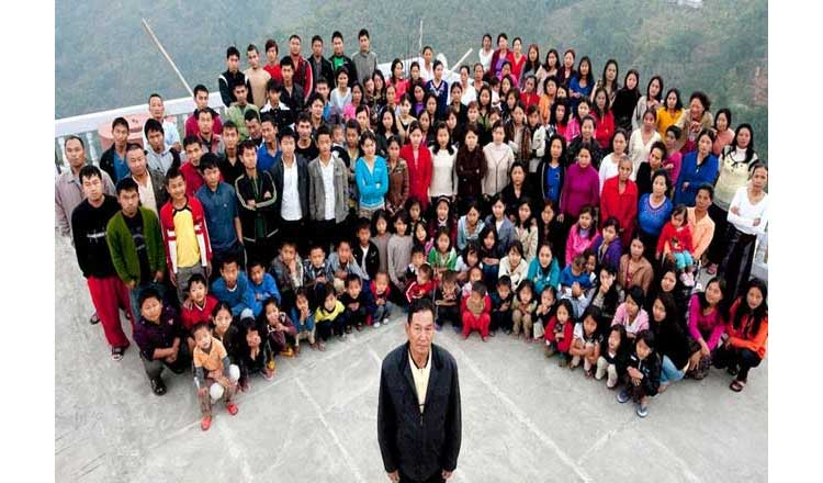 दुनिया का सबसे बड़ा परिवार भारत में, 181 सदस्य रहते हैं एक साथ
