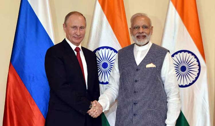 पुतिन के साथ अनौपचारिक बैठक के लिये अगले सप्ताह रूस जायेंगे मोदी