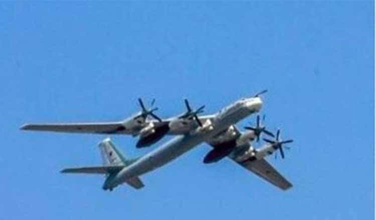 अमेरिका ने अलास्का तट से खदेड़े रूस के दो बमवर्षक विमान