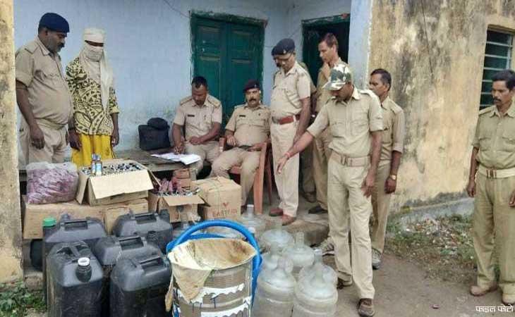 प्रदेश भर में ताबड़तोड़ छापे 600 गिरफ्तार 46 पुलिस कर्मियों पर गिरी गाज़
