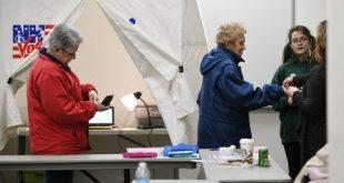 न्यूयॉर्क राज्य में शुरू हुआ मतदान