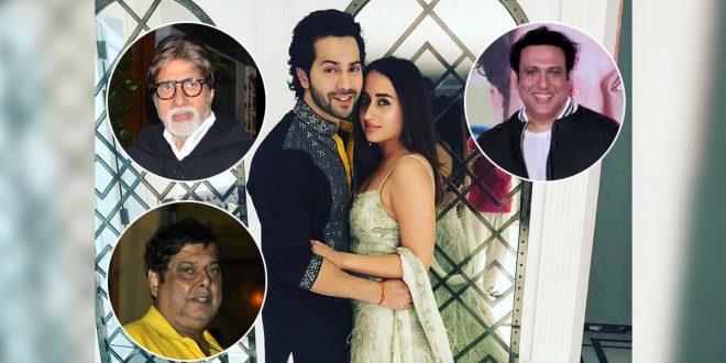 Amitabh Bachchan & Family, Govinda Not Invited For Varun Dhawan, Natasha  Dalal's Wedding; Father David Dhawan Having Sleepless Nights? -  PressboltNews