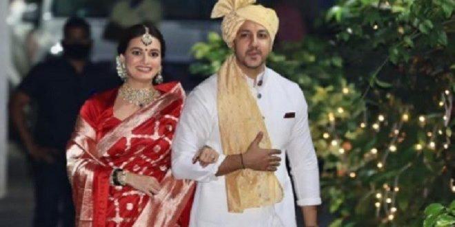 दीया मिर्जा ने शादी के लिए शुभकामनाएं देने के वास्ते अपने प्रशंसकों का आभार जताया