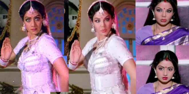 Watch: Rakhi Sawant deepfakes a video of Sridevi from 'Naagin' and fans are  showering all their love on her | Hindi Movie News - Bollywood - Times of  India