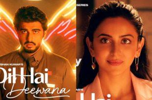 अर्जुन और रकुल की जोड़ी 'दिल है दीवाना' में आएगी नजर, फर्स्ट लुक रिलीज