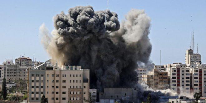 इजराइल-फिलिस्तीन के बीच युद्ध जारी, राष्ट्रपति नेतन्याहू ने कहा- हमास दोहरा युद्ध अपराध कर रहा