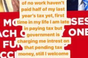 कंगना रनौत ने नहीं किया टैक्स का भुगतान, कहा- सरकार मुझसे ब्याज वसूल रही