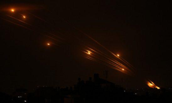 गाजा में हमास की सैन्य चौकियों पर फिर बरसे इजराइल के लड़ाकू जहाज - bhaskarhindi.com