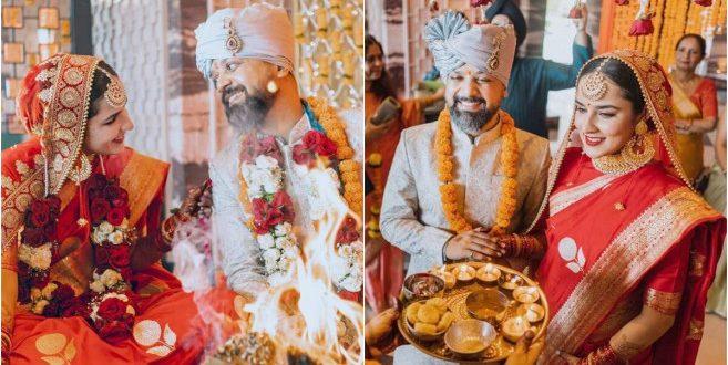 Wedding: इस एक्ट्रेस ने की डायरेक्टर आनंद तिवारी से गुपचुप शादी, तस्वीरें हुई वायरल