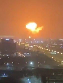 दुबई में बंदरगाह पर भीषण विस्फोट, दूर तक सुनाई दिया धमाका - bhaskarhindi.com