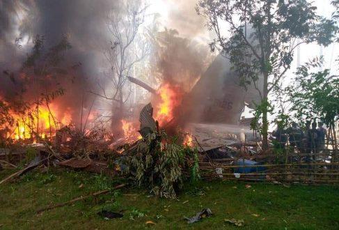 Philippines: C-130 सैन्य विमान दुर्घटनाग्रस्त,  हादसे में 17 सैनिकों की मौत हो गई है, 40 लोगों को रेस्क्यू किया गया - bhaskarhindi.com